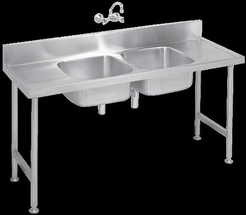 Industrial Products IMAGE TYPE / MODEL DIMENSIONS (LXW) PRODUCT CODE S2 Stainless Steel Catering Sinks Franke model S2 Catering Sink double end/centre (please specify) bowl manufactured from grade