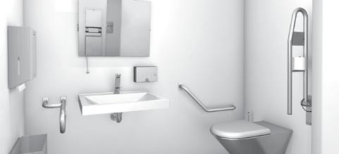 Our product range includes solid stainless steel bathroom accessories, ideally suited for such applications