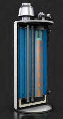 efficiency, ultra low NOx water heaters that redefines the standard in commercial gas water heating.