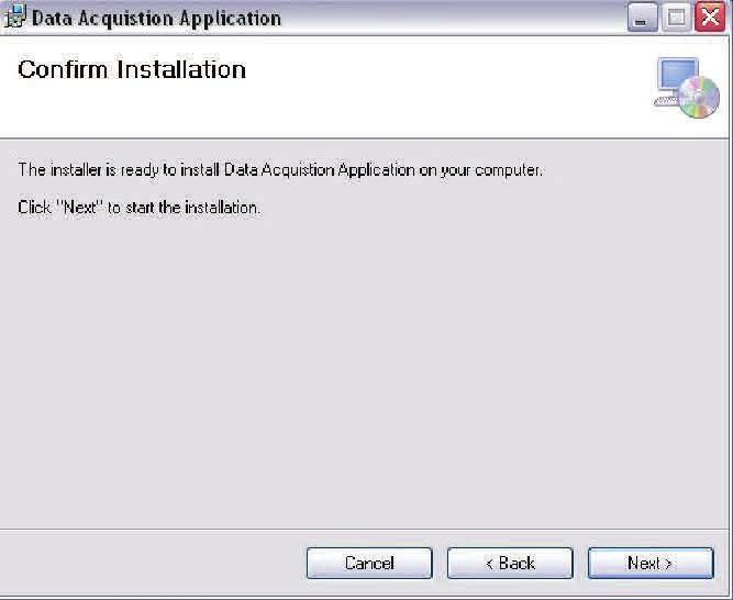 To install the software execute the setup.exe file. 4.