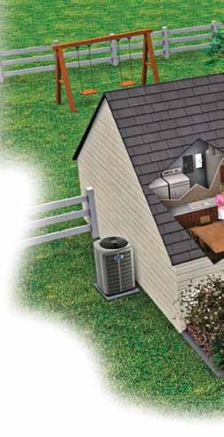 AccuClean works harder so you can breath easier. Want 99.98% clean air? Then choose the home air filtration system that gives 110% American Standard s revolutionary AccuClean. By removing up to 99.