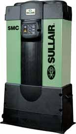 Sullair SMC Desiccant Air Dryers Capacities from 3 to 20 scfm. Designed for dew points of -40 F standard and optional -100 F.