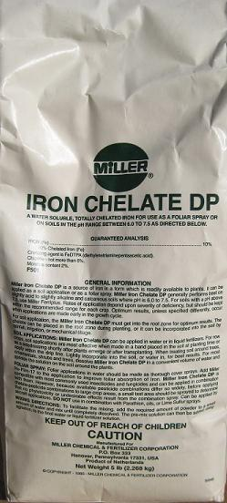 FERT ILIZERS SPECIALT Y COPPER CHELATE EDTA 15% Chelated Copper source Order #: 42-3019 4 lb.