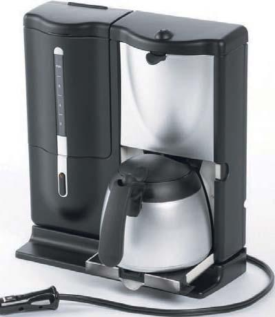 3 kg from +5 to +20 12 V - 230 V offee makers & kettle hot drink is always welcome on board, that s why the series mobile kitchen includes