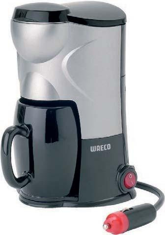 12 V Electric coffee maker M5 472566 680 ml/5 cups lack/white 210 x 210 x 260 x 140 mm 1.