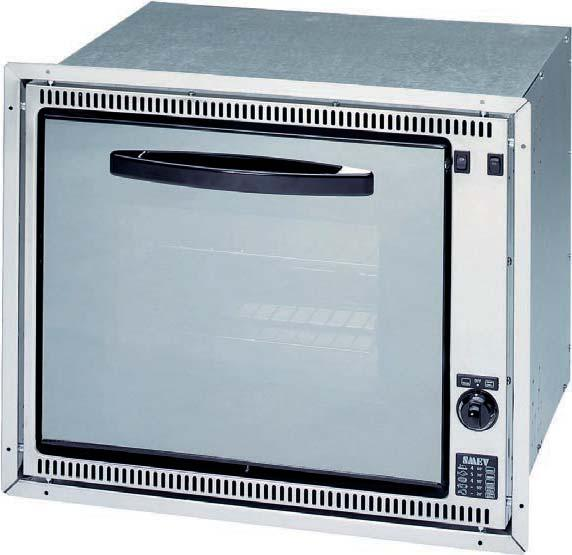 Overall dimensions uilt-in dimensions Weight Gas oven with grill 42675 1000 W 1300 W 530 x 430 x 415 mm 500 x 410 x 460 mm