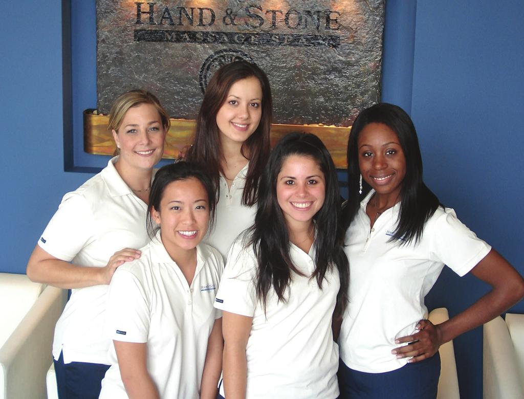 In October, Brett and Gigi opened their first corporately-owned Hand & Stone Massage Spa flagship store in Thornhill, Ontario, doubling their sales in the
