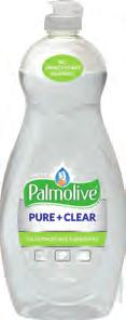 0 13 x 6=78 U US04272A Ultra Palmolive Pure + Clear No unnecessary chemicals No heavy fragrances For a pure,