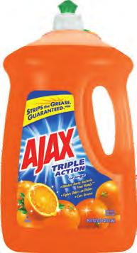 7 16 x 5=80 U AJAX Dishwashing Liquids 49874 4/90 fl oz 11.5 x 10.1 x 13.2 0.