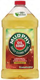 0 35 14 x 3=42 25902 Murphy Oil Soap Soft Wipes Safely and easily removes