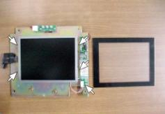 A1-2. TFT LCD Panel Disassembly a.