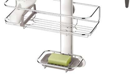 It has fully adjustable shelves that are easy to reposition with