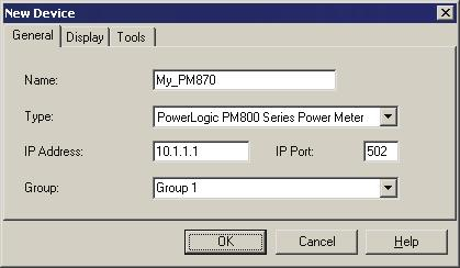 PM800 series Power Meter ION Setup device configuration guide PM800 series Meter Setup Before using ION Setup, make sure all the communications settings for the PM800 series meter have been