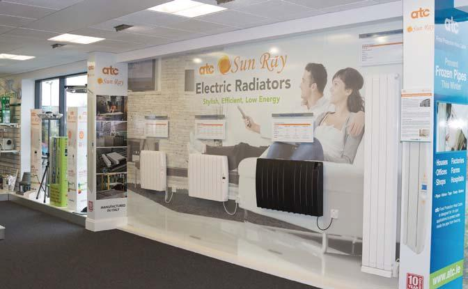 VISIT OUR ENERGY SHOWROOMS Energy Showroom Hand