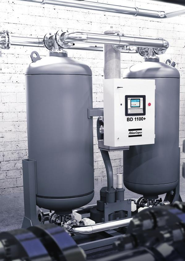 COMPLETE PROTECTION FOR YOUR APPLICATION Dry and clean compressed air is essential for a broad range of industrial applications.