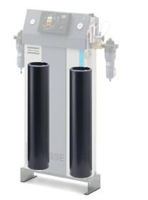Overfilled and springloaded highperformance desiccant cartridges Pressure dewpoint of 0 C/0 F as standard (70 C/00 F as option).