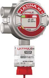 Ultima XE Gas Monitor provides continuous monitoring of combustible and toxic gases and oxygen deficiency using catalytic and electrochemical technologies.