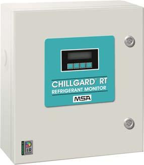Fixed Gas & Flame Detection for the Automotive Industry Chillgard RT Photoacoustic Infrared Refrigerant Monitors Chillgard RT Photoacoustic Infrared Refrigerant Monitors provide economical, low-level