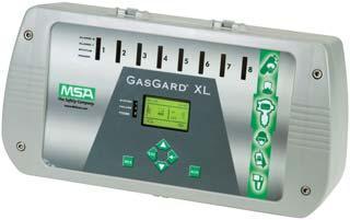 Controllers for MSA Instruments GasGard 100 Control System New GasGard 100 Control System provides easy user interface, intelligent architecture and innovative functionality.