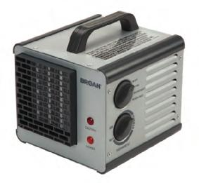 Broan Heater Portable Why Broan Big Heat? Because this rugged, reliable heater works as hard as you do.