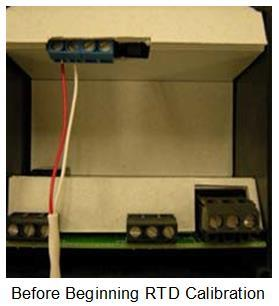 2 Wire RTD Sensor Calibration RTD devices are precision resistors whose resistance value varies with temperature.