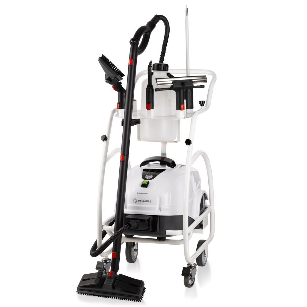 ENVIROMATE PRO EP1000 SYSTEM COMMERCIAL STEAM CLEANING SYSTEM WITH CSS PROFESSIONAL AND PERFORMANCE The new EnviroMate PRO (EP1000) takes on the most challenging cleaning and sanitizing jobs with