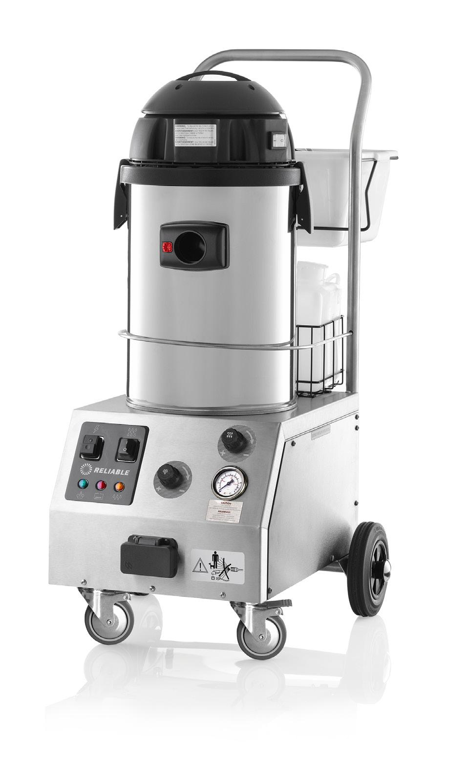 TANDEM PRO 2000CV COMMERCIAL STEAM CLEANER WITH CSS AND WET & DRY VACUUM CLEANER TOUGH AS NAILS The Tandem Pro is a multi-use cleaning unit.