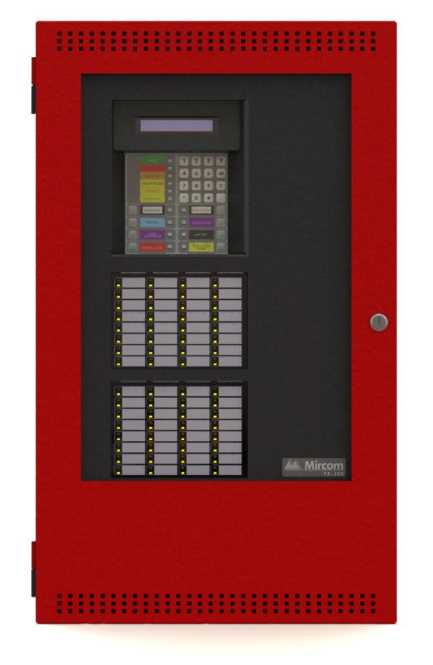 4.0 System Components 4.1 Panel Models MR-2350-60D-RA MR-2351-LD-RA All MR-2350 Series Panels have the following features: Multi-zone fire alarm control panel with 2 x 20 LCD display.
