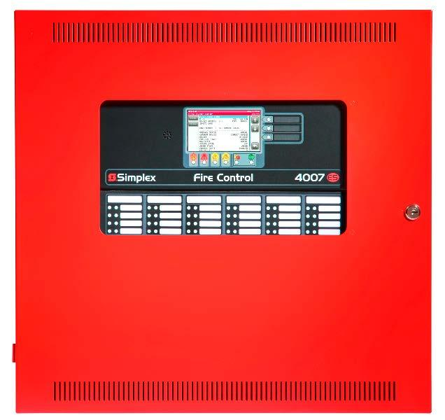 4007ES Hybrid Additional Reference 4606-9205 (Platinum) Color LCD Touchscreen Remote Annunciator 4007ES Hybrid with optional 48 LED Annunciator Module (4007-9805) 4606-9202 (Red) Color LCD