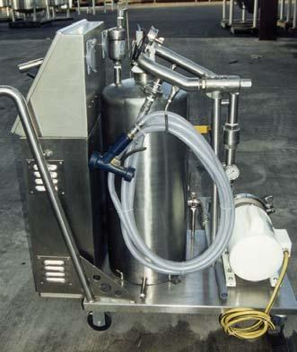 simplify the process Mix Tanks Storage Tanks Water Recirculation Bath, PLC based technology.