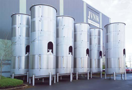 All tanks are available in 2B (mill) finish or polished stainless steel.