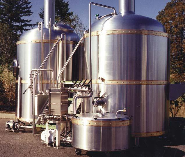 JVNW supplies custom fermentation and cellar tanks as well as complete automated brewhouses to