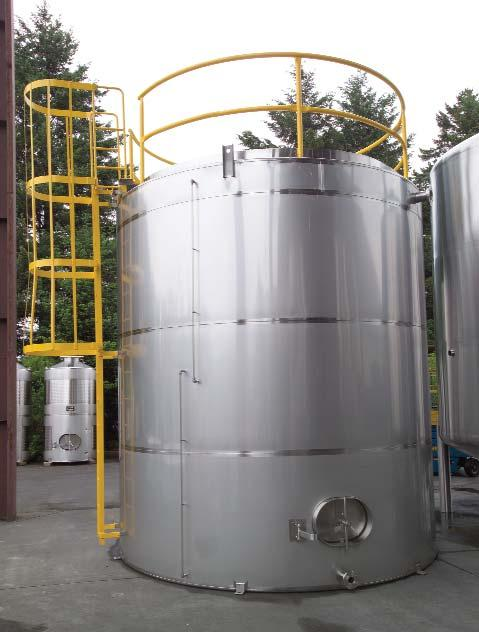 Mix Tanks 8,000 gallon dished