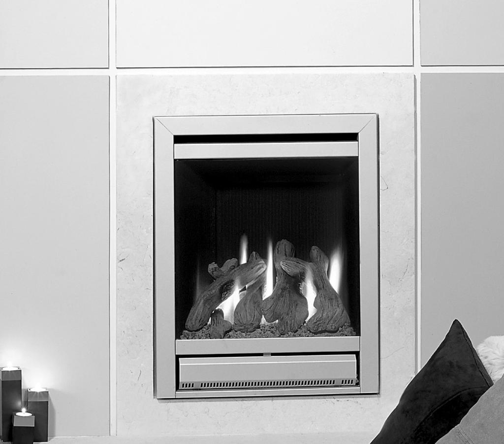 Riva 53/67 Inset Convector Fire - Balanced Flue With Upgradeable Control Valve Instructions for Use, Installation & Servicing For use in GB & IE (Great Britain & Republic of Ireland).