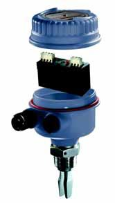 Rosemount 2120 SELECT ROSEMOUNT 2120 VIBRATING FORK LIQUID LEVEL SWITCH The Rosemount 2120 switch consists of housing, tank connection, and forks.