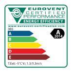 participates in the Eurovent Certification programme for Liquid Chilling Packages (LCP), Air handling units (AHU), Fan coil units (FCU) and variable refrigerant flow systems (VRF) Check ongoing
