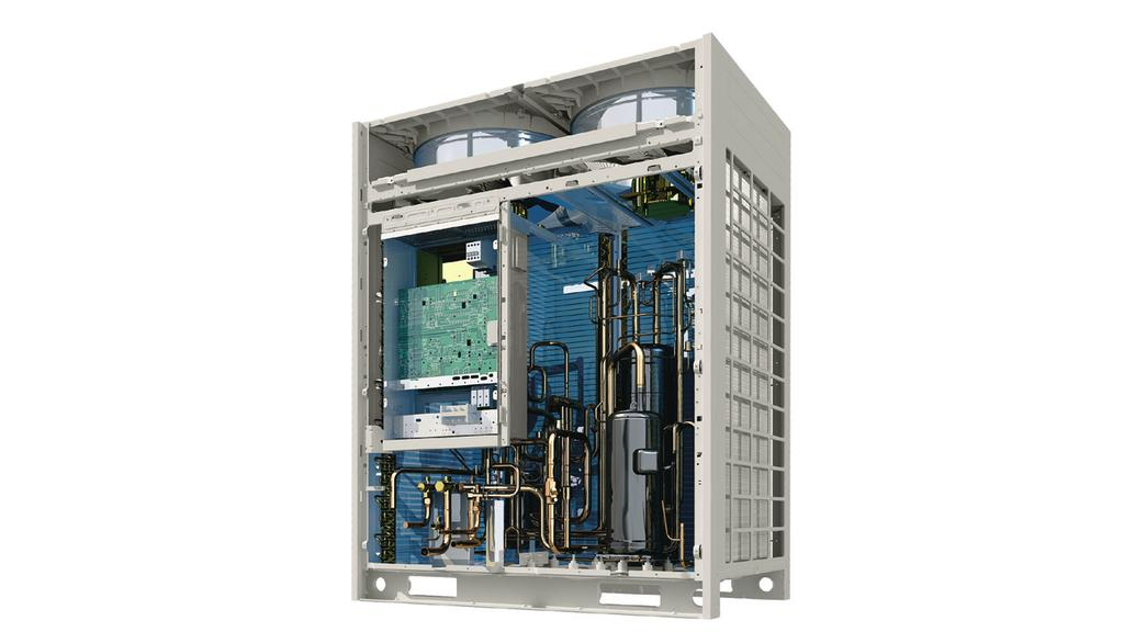 Available in four configurations, Lennox VRF Mode Selection Boxes control the flow of refrigerant to