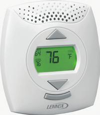 LonMark-certified ComfortSense 7500 Commercial Thermostat Backlit 4.