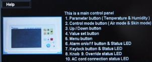 Cam mode, Graph mode and Masimo mode are shown as below.