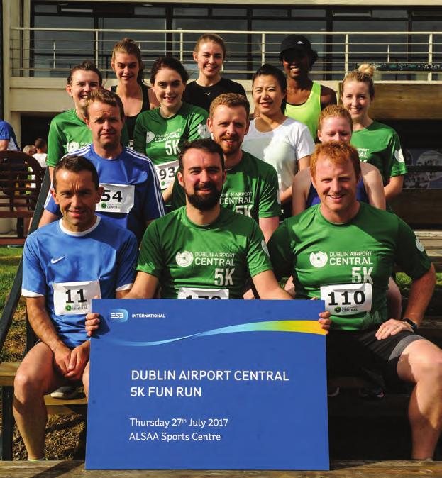 THE FIRST EVER Dublin Airport Central 5K Fun Run took place in the ALSAA Sports Complex on Thursday 27 July. The run was arranged by Dublin Airport Central in support of charity partner, Pieta House.