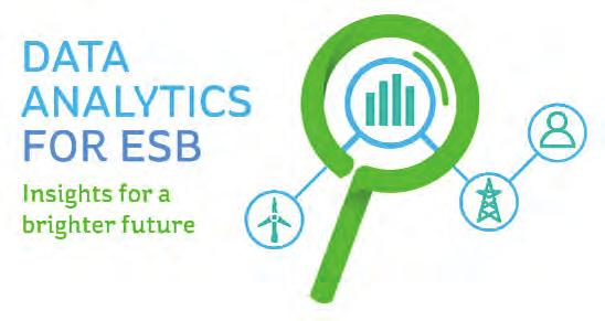 There s already some great activity going on across the business units. However, we re now deepening and extending our efforts with the launch of our Data Analytics for ESB project.