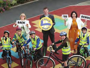 (RSA) and ESB Networks called on parents, guardians and teachers to ensure that road safety, in particular cycle safety, be on the lesson plan for all children returning to school in September, and