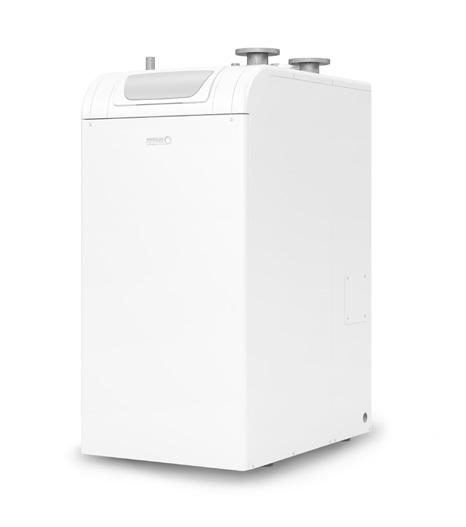 Aluminium range of condensing boilers Features and benefits Features Benefits Lightweight aluminium heat exchanger. For reliable, highly efficient heat transfer. Top hydraulic and flue connections.