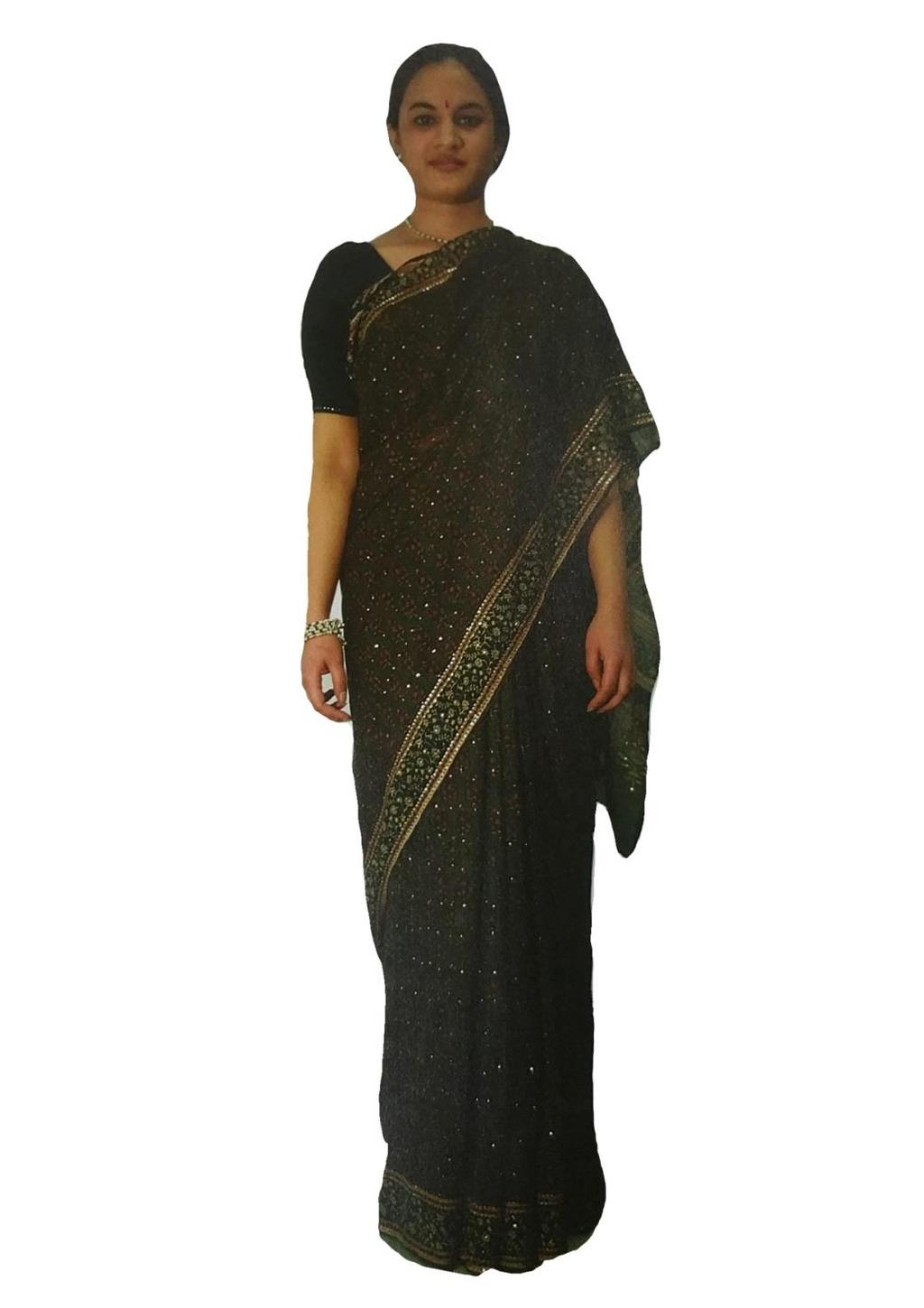 Traditional styles of saree draping communicate the area of the wearer as well.