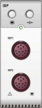 13 Monitoring IBP 13.1 Introduction You can measure invasive blood pressure using the MPM, or the pressure plug-in module.