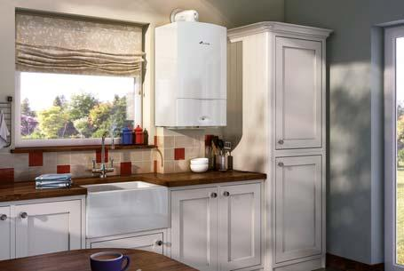 for premium quality, high-efficiency combi boilers. The Greenstar Ci Classic also achieves 3 credit points within the Code for Sustainable Homes.