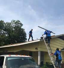 Responding to this crisis, generous GHBA members were on board immediately with donations through the HomeAid website, to help initiate the repairs.