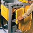 Carts & Accessories Cart & Accessories High Capacity Cart Locking Cabinet* Janitor s Cart High Capacity