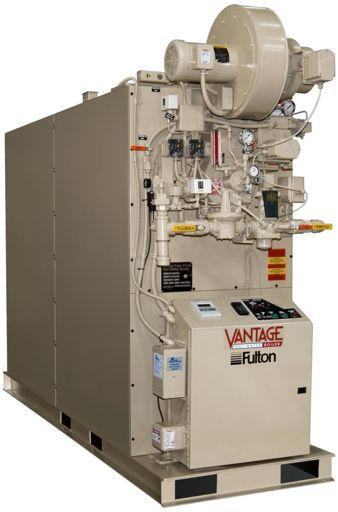 Fulton Vantage Hydronic Boilers Fully Condensing with Efficiencies up to 99%.