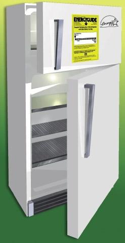 Appliances 24 federal standards and 40% less energy than the conventional models sold in 2001. Refrigerator/Freezer Energy Tips Look for a refrigerator with automatic moisture control.